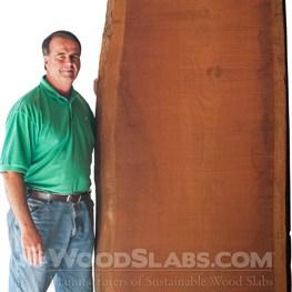 brazilian cherry wood slab