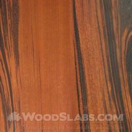 tigerwood wood slab